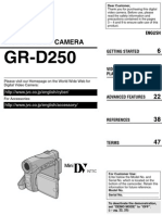 JVC-GRD250 Camcorder Manual