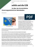 Europäische Zentralbank_ Linke Geldpolitik Und Die EZB (Neues-Deutschland.de)