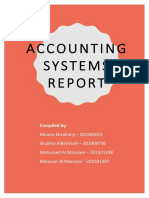assessment three - accounting systems