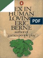 Sex in Human Loving (Berne E.)