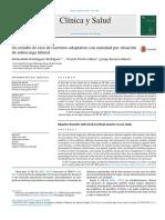 Un estudio de caso de trastorno adaptativo con ansiedad por situación de sobrecarga laboral