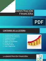 Materia Administración Financiera