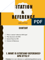 Slide_APA Citation & Reference