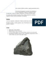 Parte Minerología