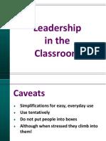 Leadership in classroom - prezentacja (Hay J.).pdf
