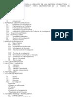 Estudio de Factibilidad Para La Creacion de Una Empresa Product or A y Comercializacidora de Yogurt