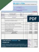 Cotizacion - Insotelco 03-04-18