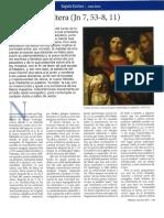 Josep Boira, La mujer adúltera (Revista Palabra, octubre 2011)