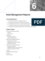 6 - Hotel Management Reports