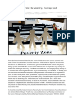 Poverty Line in India Its Meaning Concept and Evolution