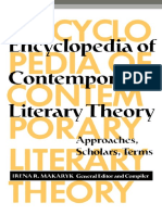 Irena Makaryk - Encyclopedia of Contemporary Literary Theory_ Approaches, Scholars, Terms