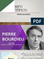 O campo cientiìfico Bourdieu