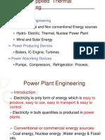 VI Power Plant Engineering