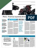 Perú-Francia, La Previa de Los Gerentes