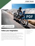 2010 Yamaha XTZ660 Factsheet EU En