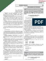 Modifican Plan de Acción de Control de la Reconstrucción con Cambios periodo 2017 - 2020