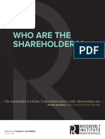 Who Are the Shareholders?