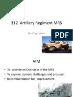 312 Artillery Rgt Scope