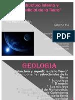 Estructura y Superficie de La Tierra1