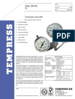 Tempress Thermometer a78 01 Dn 63