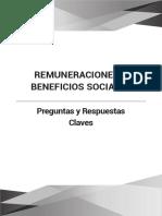 Remuneraciones y Beneficios Sociales