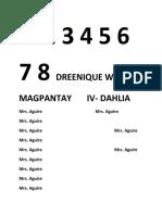 1 2 3 4 5 6 7 8 Dreenique Wayne Magpantay IV