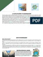 La Capa de Ozono y Su Degradación
