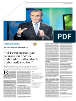 El Perú Tiene Que Pensar en Cómo Enfrentar Esta Ola de Automatización
