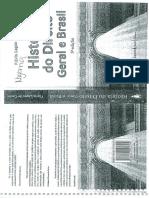 LIVRO Historia Do Direito Geral -Brasil - Flavia Lages Castro