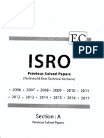 ISRO ECE 2006 to 2017 Solution Latest