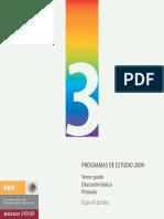 Programas De Estudios 2009 - 3°.pdf
