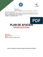 SIMULARE Planul de Afaceri Fitness