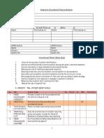 Hospital Checklist 1