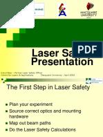 LMS Laser Safety Presentation