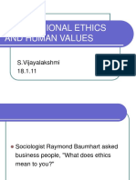 242910975 Professional Ethics and Human Values 1 Ppt 1
