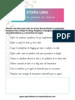 001 checklist etapa uno.pdf