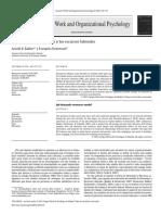 La teoría de las demandas y los recursos laborales
