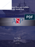 Fact Sheet - US Military Bases and Facilities Middle East