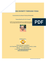 Dsicovering Divinity Through Yoga
