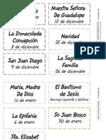Etiquetas Folders Litúrgicos