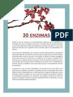 30 enzimaS