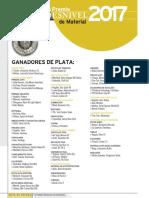 Ganadores Plata Premio Desnivel 2017