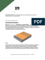 Fichas Tecnica - Mixercoor - Mortero PU- Antiacido y Antibacteria