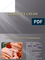 George Ice Cream