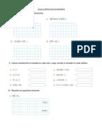 Guia de Matematicas Divisiones y multiplicaciones quinto