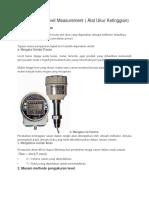 Instrumentasi Level Measurement.docx