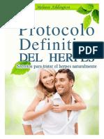 El Protocolo Definitivo Del Herpes Libro en PDF