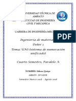 Clasificación General UNS