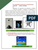 Trab. n 05 Satelite y Sensores Utilizados en La Teledeteccion Raul Hilario Lunes