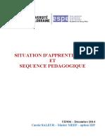 SITUATION D'Apprentissage Et Séquence Pédagogique Relu Frisch